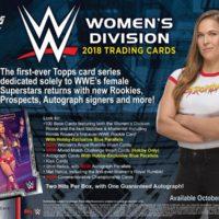 2018 TOPPS WWE:WOMEN'S DIVISION