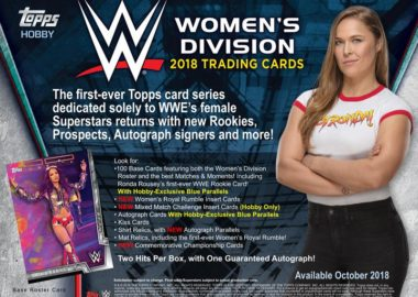 2018 TOPPS WWE:WOMEN'S DIVISION