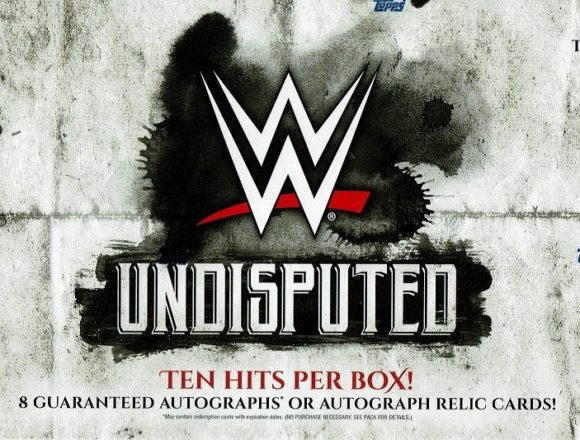 2018 TOPPS WWE UNDISPUTED WRESTLING