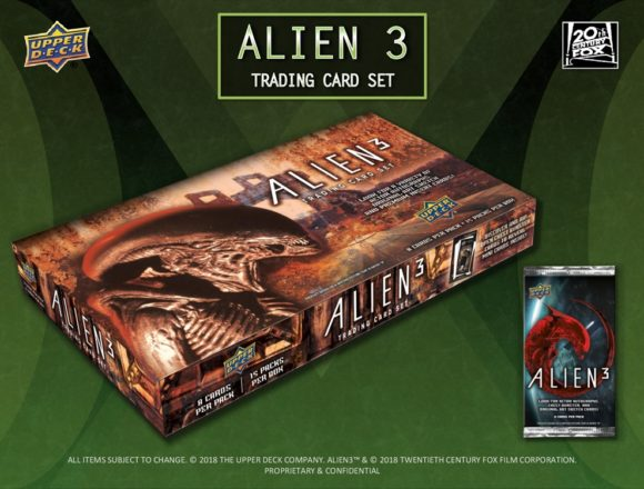 2019 UPPER DECK ALIEN 3 TRADING CARD SET
