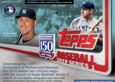 MLB 2019 TOPPS SERIES 1 BASEBALL HOBBY