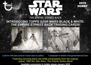 2019 Star Wars Empire Strikes Back Black & White