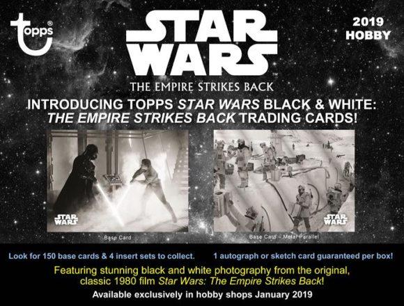 2019 Star Wars Empire Strikes Back Black & White