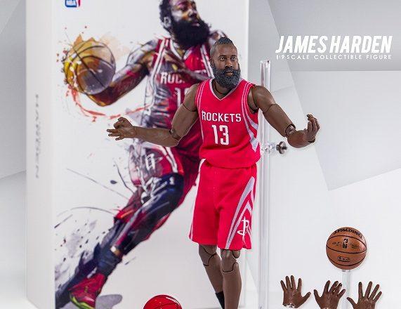エンターベイ 1/9 モーションマスターピース コレクティブルフィギュア NBAコレクション「ジェームス・ハーデン」