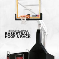 エンターベイ 1/9 モーションマスターピース コレクティブルフィギュア NBAコレクション「バスケットボール・フープ スタンド」
