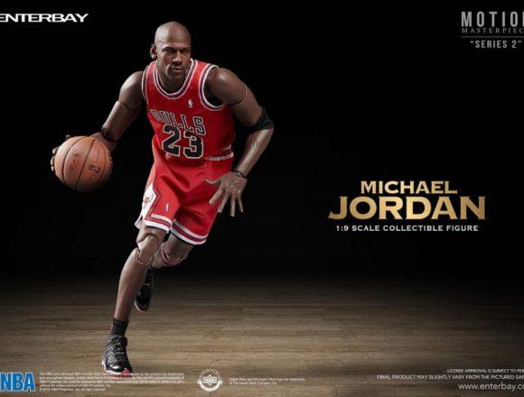 エンターベイ 1/9 モーションマスターピース コレクティブルフィギュア NBAコレクション 『マイケル・ジョーダン』
