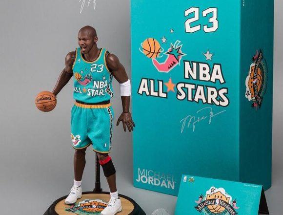 エンターベイ 1/6 リアルマスターピース コレクティブルフィギュア NBAコレクション 『マイケル・ジョーダン オールスターゲーム 1996 LTD』