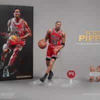 エンターベイ 1/9 モーションマスターピース コレクティブル フィギュア NBAコレクション 『スコッティ・ピッペン』