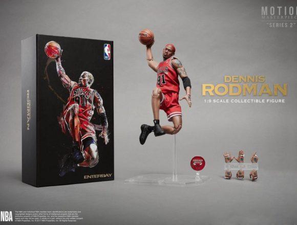 エンターベイ 1/9 モーションマスターピース コレクティブル フィギュア NBAコレクション 『デニス・ロッドマン』