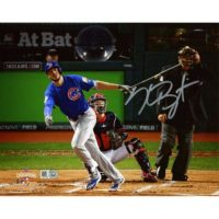 "Kris Bryant Chicago Cubs 2016 MLB World Series Champions Autographed 8"" x 10"" World Series Photograph[フレームなし]"