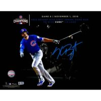 "Kris Bryant Chicago Cubs 2016 MLB World Series Champions Autographed 11"" x 14"" World Series Spotlight Photograph[フレームなし]"