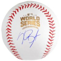 Kris Bryant Chicago Cubs Autographed 2016 MLB World Series Baseball