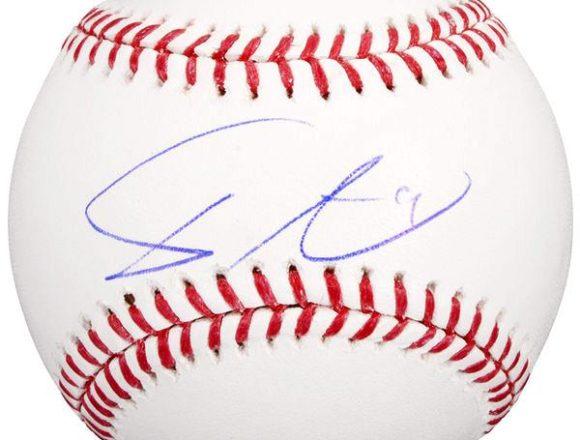 Yu Darvish Texas Rangers Autographed Official Major League Baseball