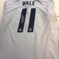ICONS Gareth Bale 直筆サイン入りユニフォーム