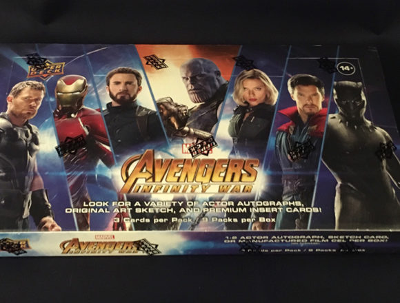 2018 UPPER DECK MARVEL AVENGERS INFINITY WAR