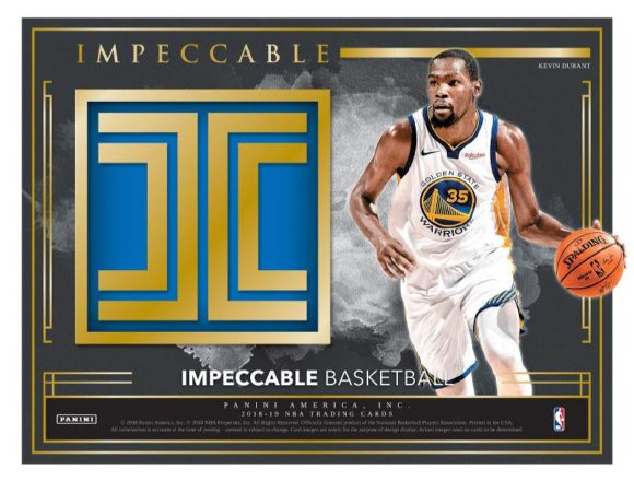 NBA 2018-19 PANINI IMPECCABLE BASKETBALL
