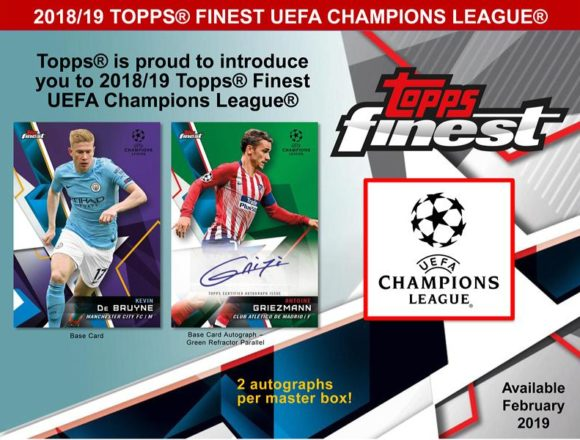 2018/19 TOPPS FINEST UEFA CHAMPIONS LEAGUE