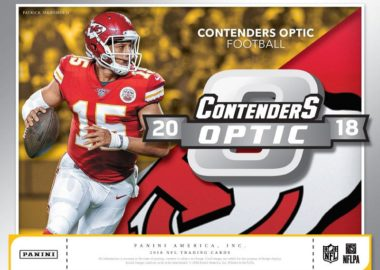 2018 PANINI CONTENDERS OPTIC FOOTBALL