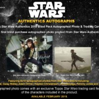 TOPPS 2019 STAR WARS AUTHENTICS BLIND
